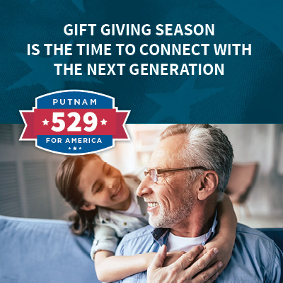 Gift giving season is the time to connect with the next generation.