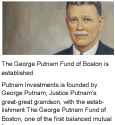 1837 - Putnam Investments is founded by George Putnam