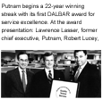 1990 - Putnam begins a 24-year winning streak with its first DALBAR award for service excellence