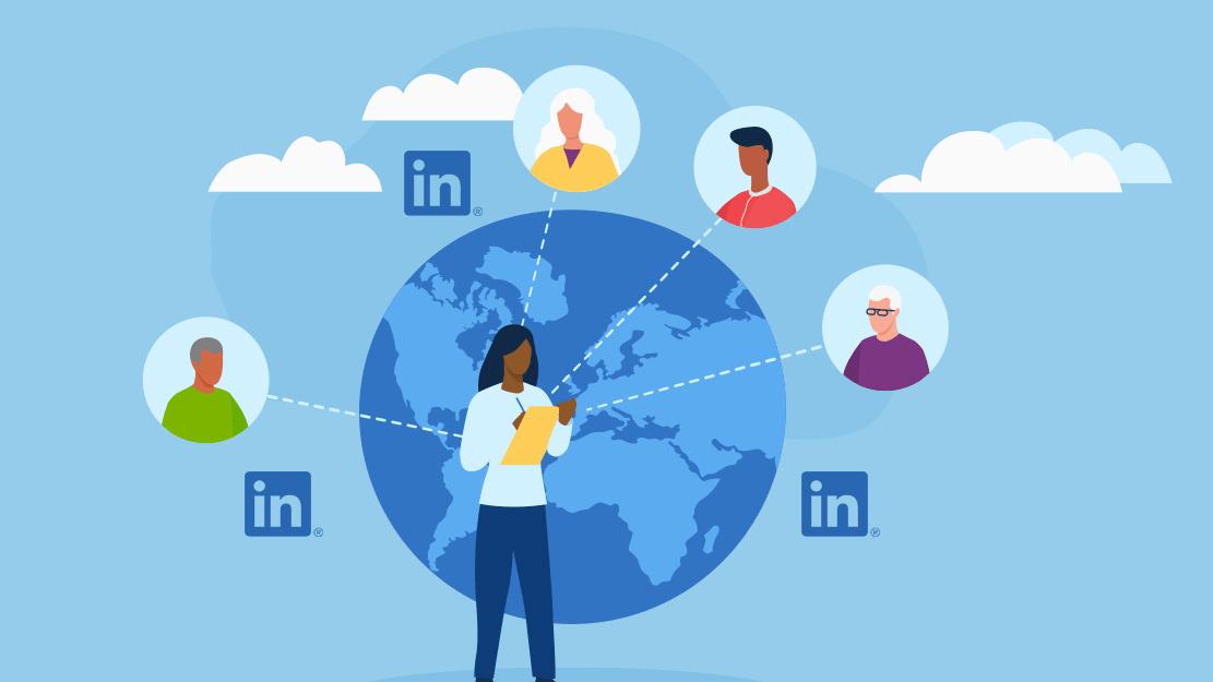 Prospecting recent retirees using LinkedIn
