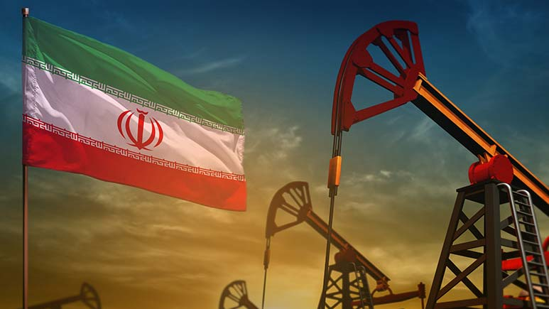 Oil tracks U.S.–Iran tensions