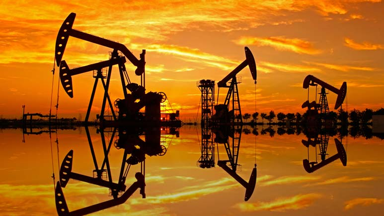 Oil pendulum swings lower