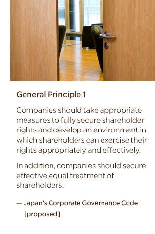 Japan's Corporate Governance Code