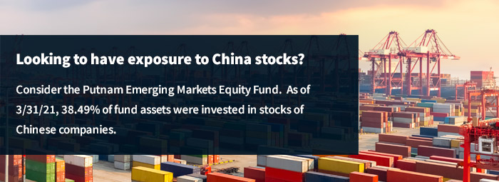 Consider Putnam Emerging Markets Equity Fund