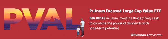 Explore Putnam Focused Large Cap Value ETF (PVAL)