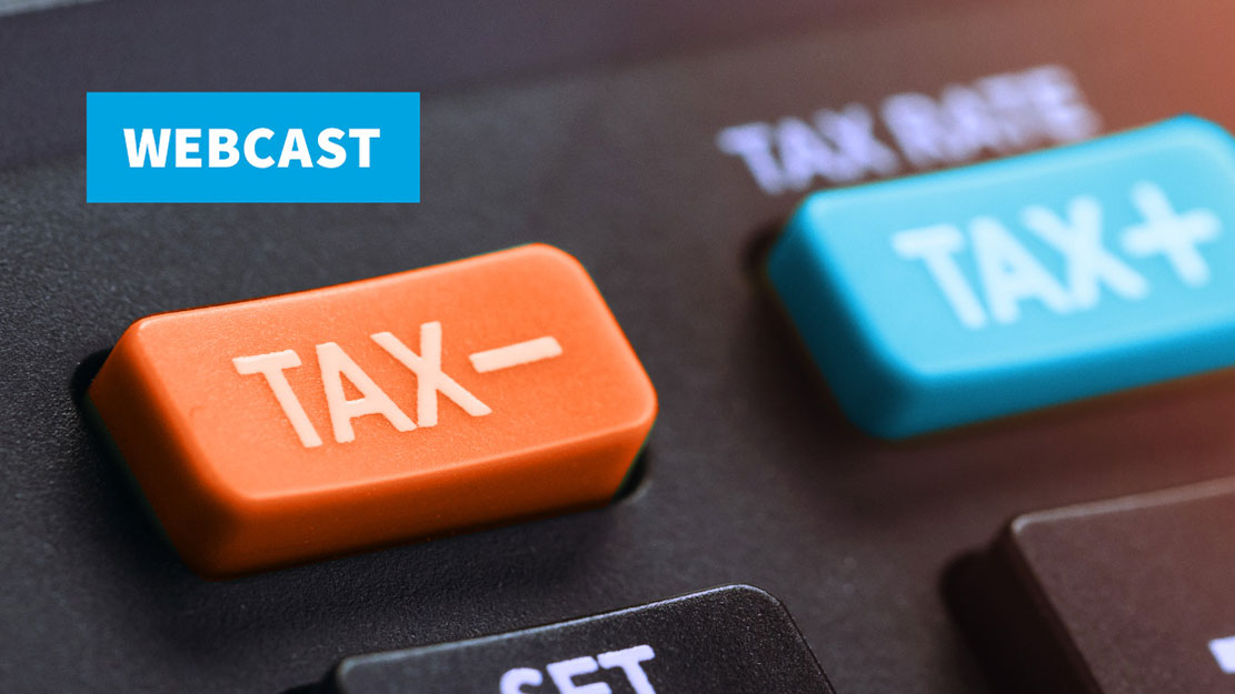 Webcast: Learn about tax planning in the Biden era